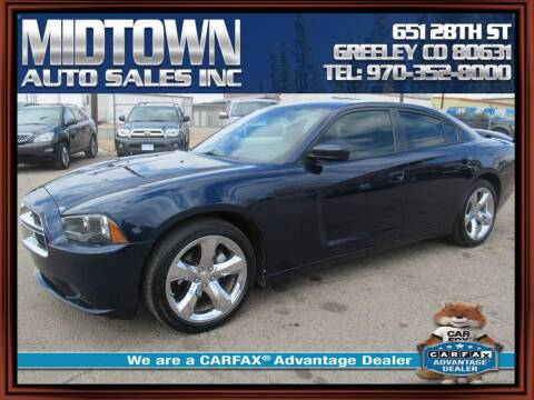 2014 Dodge Charger for sale at MIDTOWN AUTO SALES INC in Greeley CO