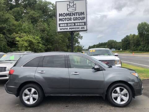2011 Acura MDX for sale at Momentum Motor Group in Lancaster SC