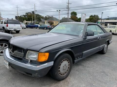 1991 Mercedes-Benz 560-Class for sale at Dodi Auto Sales in Monterey CA