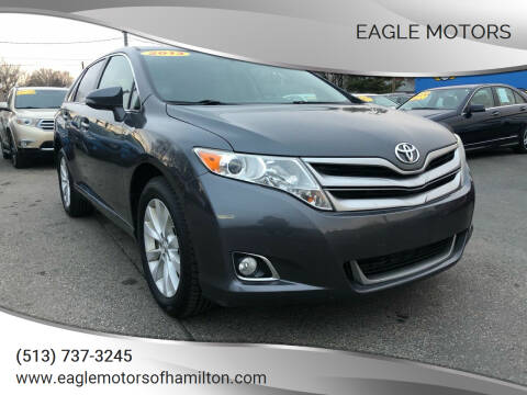 2013 Toyota Venza for sale at Eagle Motors in Hamilton OH