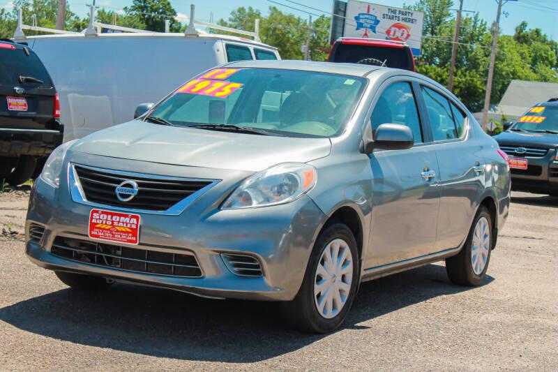 2012 Nissan Versa for sale at SOLOMA AUTO SALES in Grand Island NE