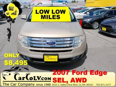 2007 Ford Edge for sale at The Car Company in Las Vegas NV