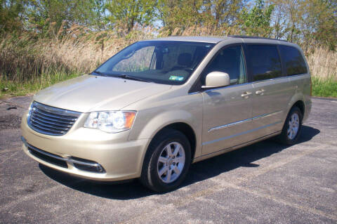 2012 Chrysler Town and Country for sale at Action Auto Wholesale - 30521 Euclid Ave. in Willowick OH