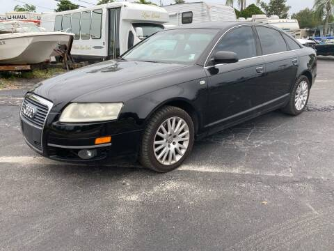 2007 Audi A6 for sale at Low Price Auto Sales LLC in Palm Harbor FL