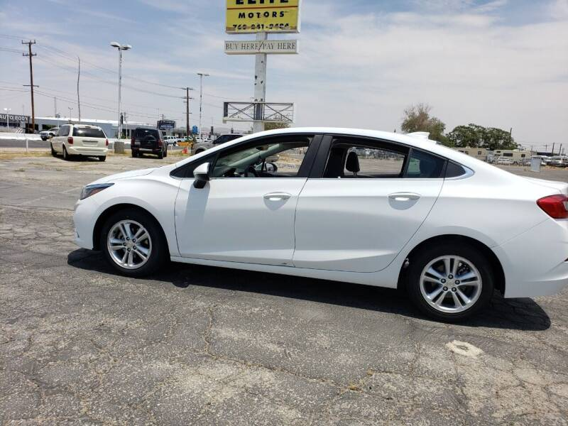 2018 Chevrolet Cruze for sale at ELITE MOTORS in Victorville CA