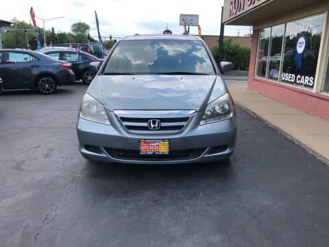 2007 Honda Odyssey for sale at RON'S AUTO SALES INC in Cicero IL