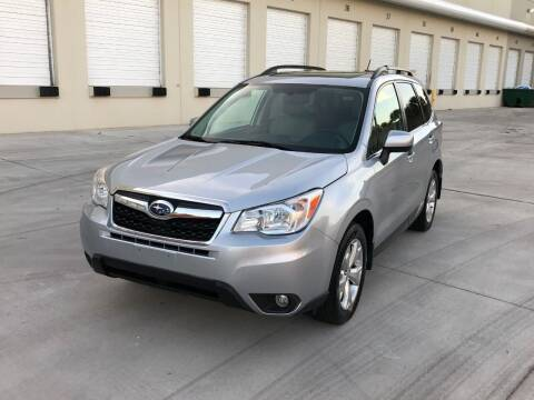 2015 Subaru Forester for sale at EUROPEAN AUTO ALLIANCE LLC in Coral Springs FL