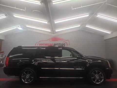 2009 Cadillac Escalade ESV for sale at Premium Motors in Villa Park IL