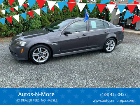 2008 Pontiac G8 for sale at Autos-N-More in Gilbertsville PA