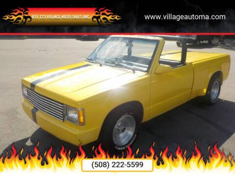 1984 Chevrolet S-10 for sale at RTE 123 Village Auto Sales Inc. in Attleboro MA