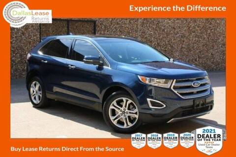 2017 Ford Edge for sale at Dallas Auto Finance in Dallas TX