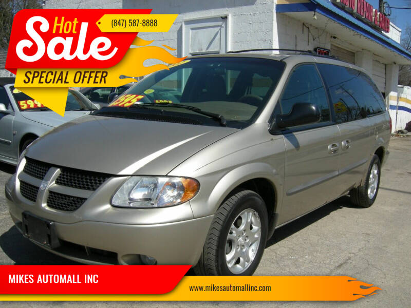 2002 Dodge Grand Caravan for sale at MIKES AUTOMALL INC in Ingleside IL
