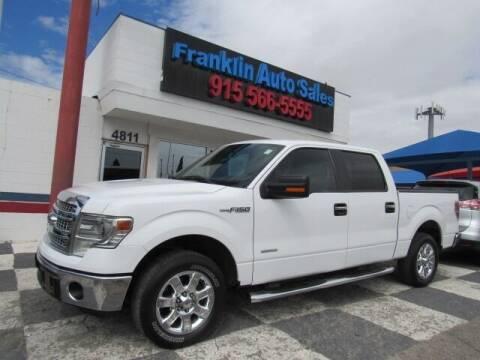 2014 Ford F-150 for sale at Franklin Auto Sales in El Paso TX