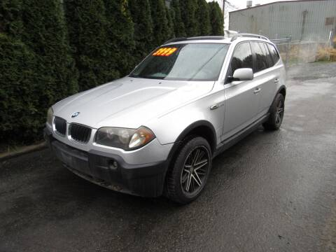 2004 BMW X3 for sale at Royal Auto Sales, LLC in Algona WA