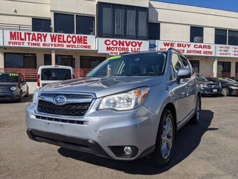 2015 Subaru Forester for sale at Convoy Motors LLC in National City CA