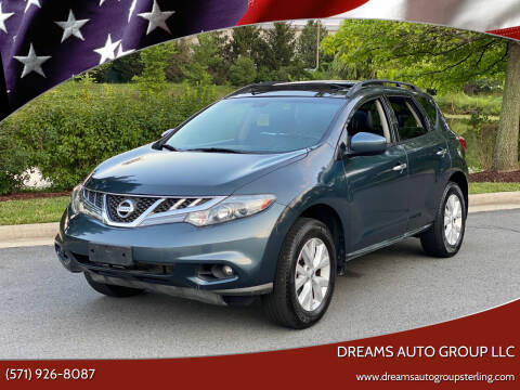 2011 Nissan Murano for sale at Dreams Auto Group LLC in Sterling VA