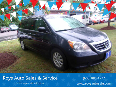 2009 Honda Odyssey for sale at Roys Auto Sales & Service in Hudson NH