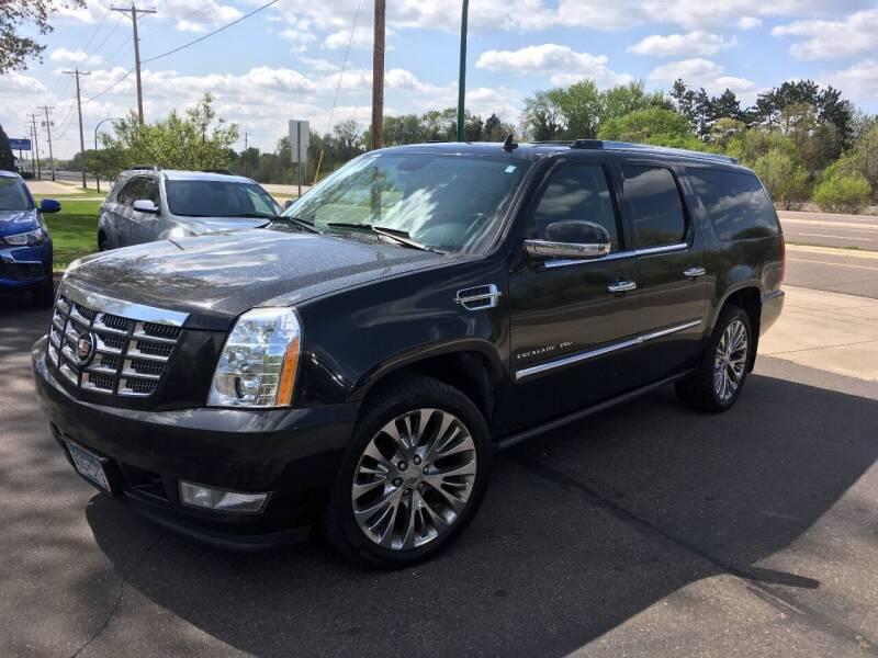 2011 Cadillac Escalade ESV for sale at Premier Motors LLC in Crystal MN