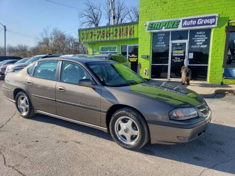 2002 Chevrolet Impala for sale at Empire Auto Group in Indianapolis IN