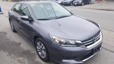 2014 Honda Accord for sale at Howe's Auto Sales in Lowell MA