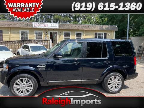2014 Land Rover LR4 for sale at Raleigh Imports in Raleigh NC