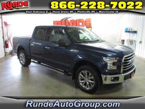 2015 Ford F-150 for sale at Runde PreDriven in Hazel Green WI
