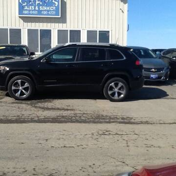 2019 Jeep Cherokee for sale at Garys Sales & SVC in Caribou ME