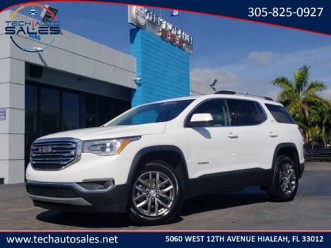 2019 GMC Acadia for sale at Tech Auto Sales in Hialeah FL