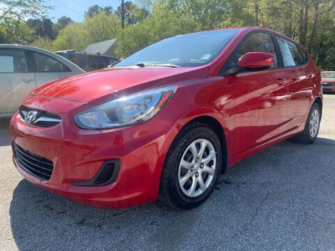2012 Hyundai Accent for sale at ATLANTA AUTO WAY in Duluth GA