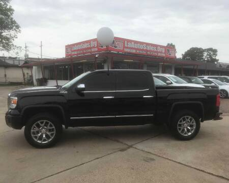2015 GMC Sierra 1500 for sale at LA Auto Sales in Monroe LA