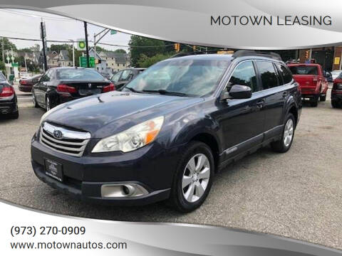 2010 Subaru Outback for sale at Motown Leasing in Morristown NJ