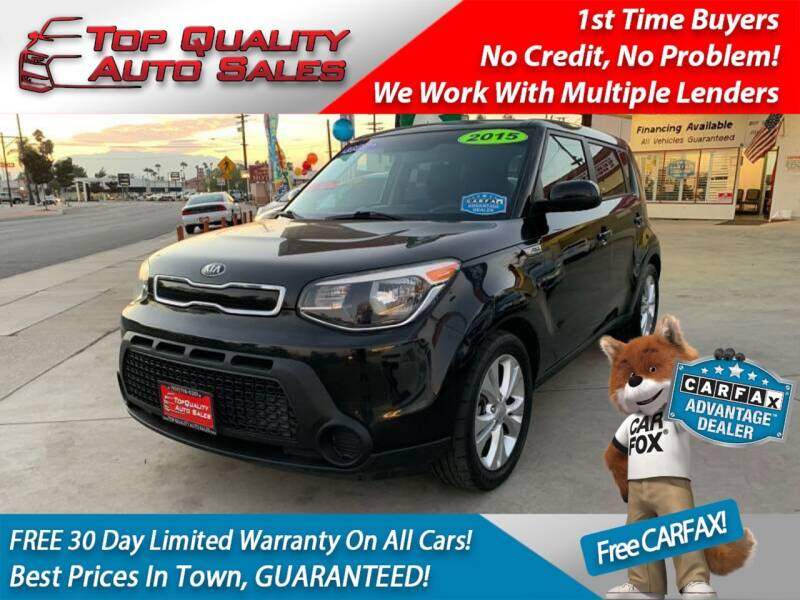 2015 Kia Soul for sale at Top Quality Auto Sales in Redlands CA