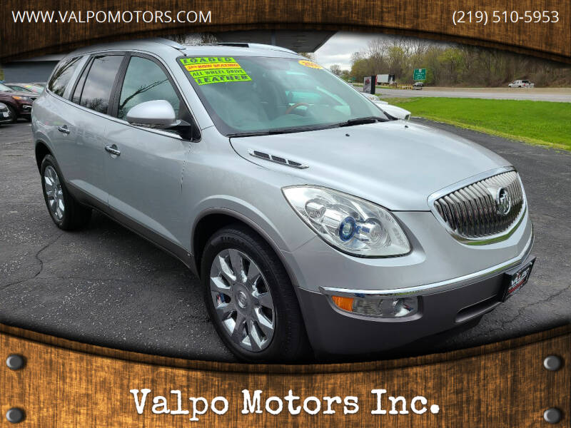 2010 Buick Enclave for sale at Valpo Motors Inc. in Valparaiso IN