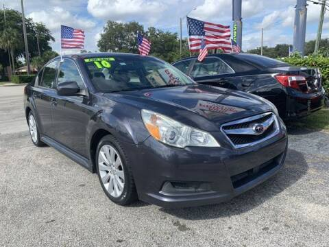 2010 Subaru Legacy for sale at AUTO PROVIDER in Fort Lauderdale FL