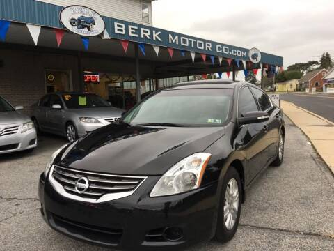 2012 Nissan Altima for sale at Berk Motor Co in Whitehall PA