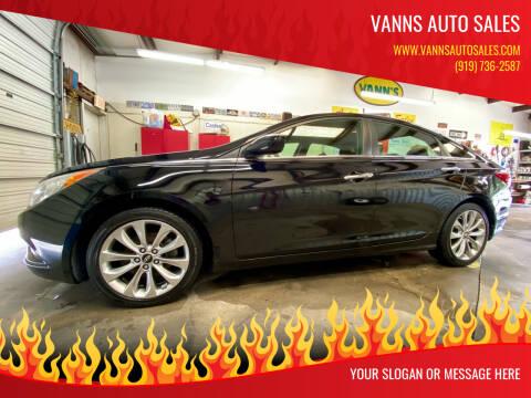 2011 Hyundai Sonata for sale at Vanns Auto Sales in Goldsboro NC