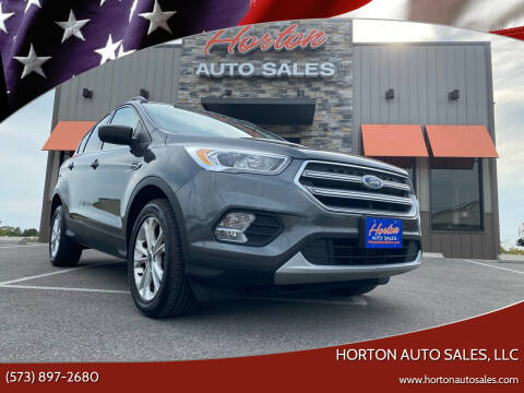 2017 Ford Escape for sale at HORTON AUTO SALES, LLC in Linn MO