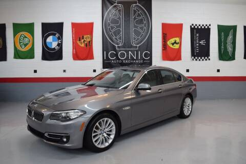 2015 BMW 5 Series for sale at Iconic Auto Exchange in Concord NC