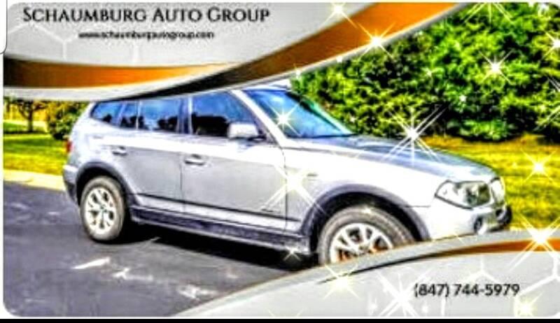 2009 BMW X3 for sale at Schaumburg Auto Group in Schaumburg IL