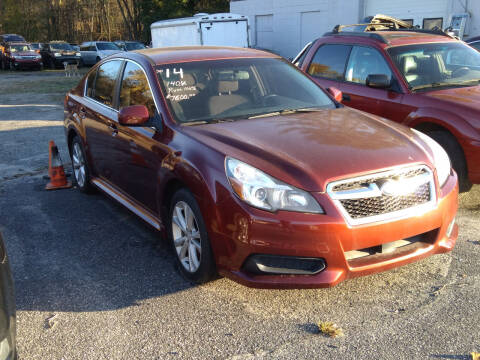 2014 Subaru Legacy for sale at SOUTH VALLEY AUTO in Torrington CT