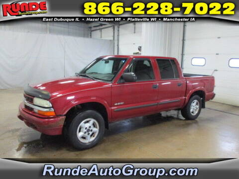 2004 Chevrolet S-10 for sale at Runde Chevrolet in East Dubuque IL