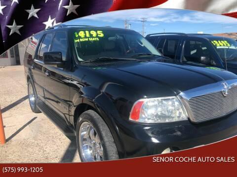 2003 Lincoln Navigator for sale at Senor Coche Auto Sales in Las Cruces NM
