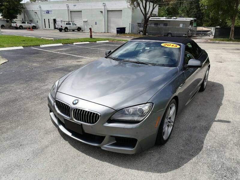 2013 BMW 6 Series for sale at Best Price Car Dealer in Hallandale Beach FL