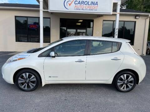2015 Nissan LEAF for sale at Carolina Auto Credit in Youngsville NC