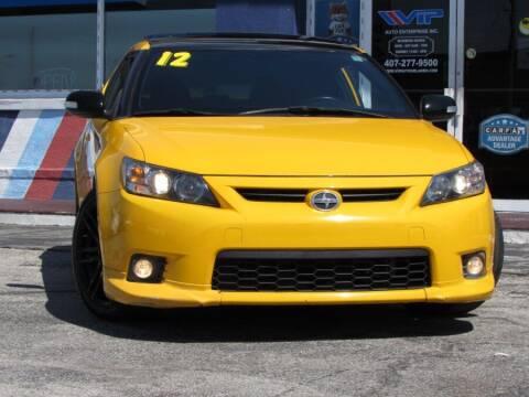 2012 Scion tC for sale at VIP AUTO ENTERPRISE INC. in Orlando FL