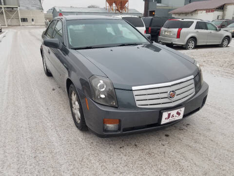2007 Cadillac CTS for sale at J & S Auto Sales in Thompson ND