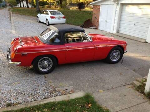 1971 MG MGB for sale at Haggle Me Classics in Hobart IN
