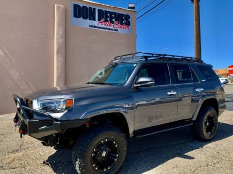 2017 Toyota 4Runner for sale at Don Reeves Auto Center in Farmington NM