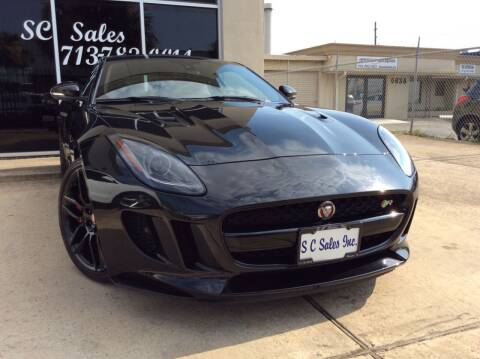 2016 Jaguar F-TYPE for sale at SC SALES INC in Houston TX