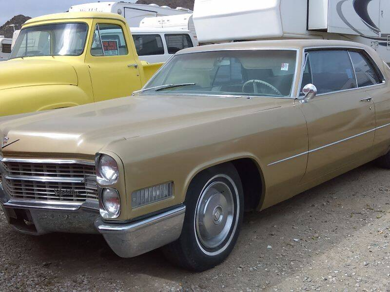 1966 Cadillac CALAIS for sale at Collector Car Channel - Desert Gardens Mobile Homes in Quartzsite AZ
